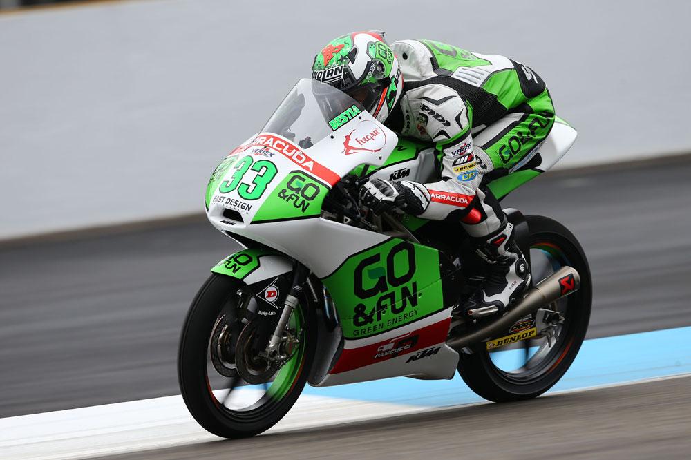 Bastianini manda en el arranque del GP de la República Checa