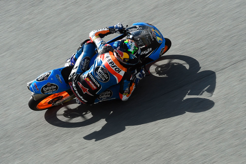 Alex Márquez, el más rápido de la primera jornada en Brno