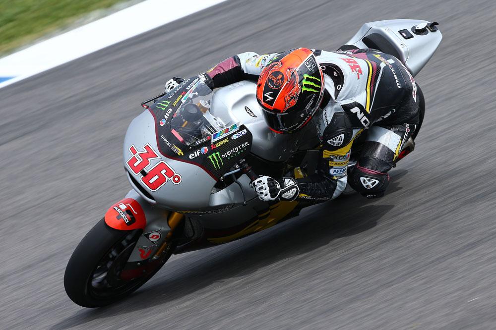 Mika Kallio lidera los segundos libres de Moto2