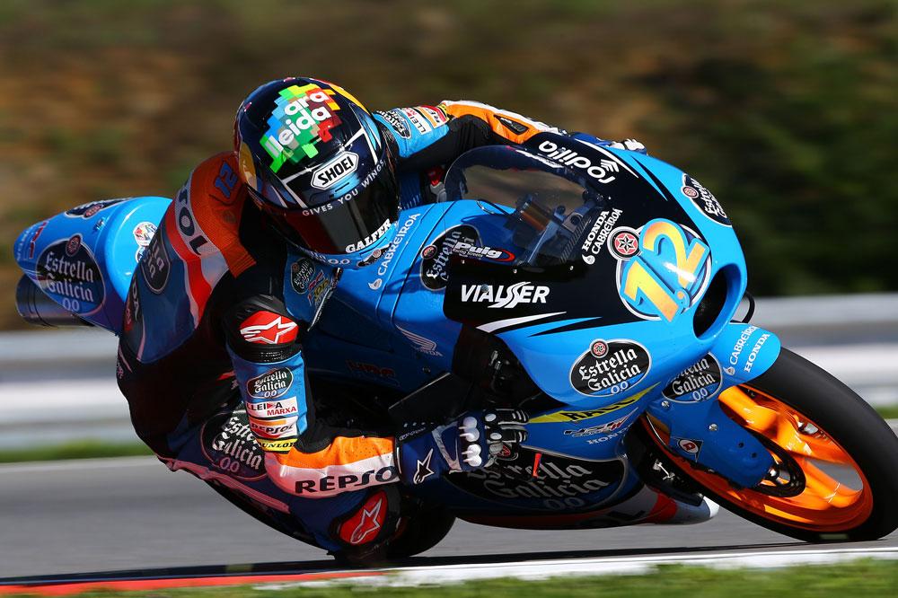 Alex Márquez consigue la segunda pole de la temporada en Brno