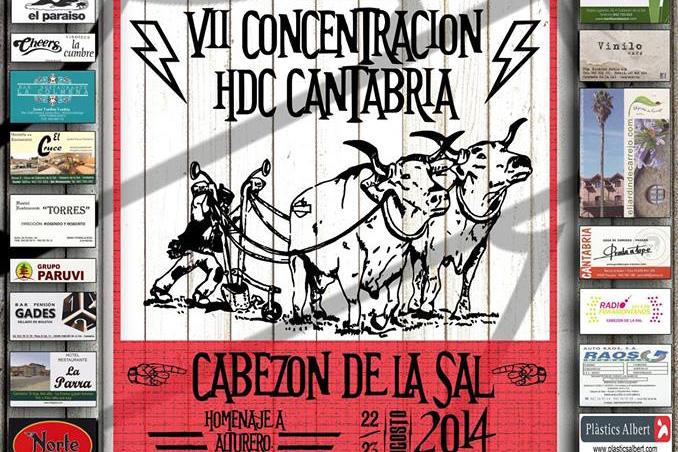 VII Concentración HDC - Cantabria