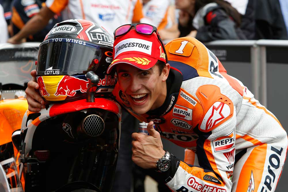 Márquez: El año pasado sólo era rápido, pero sin saber bien lo que hacía la moto