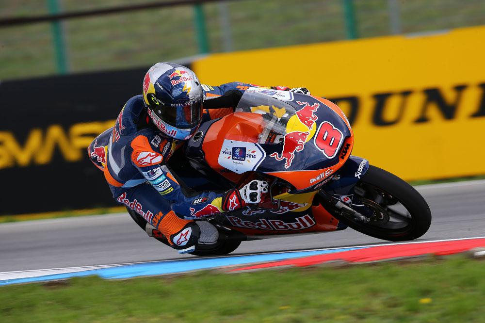 Miller se sitúa al frente en los primeros libres del GP de Gran Bretaña