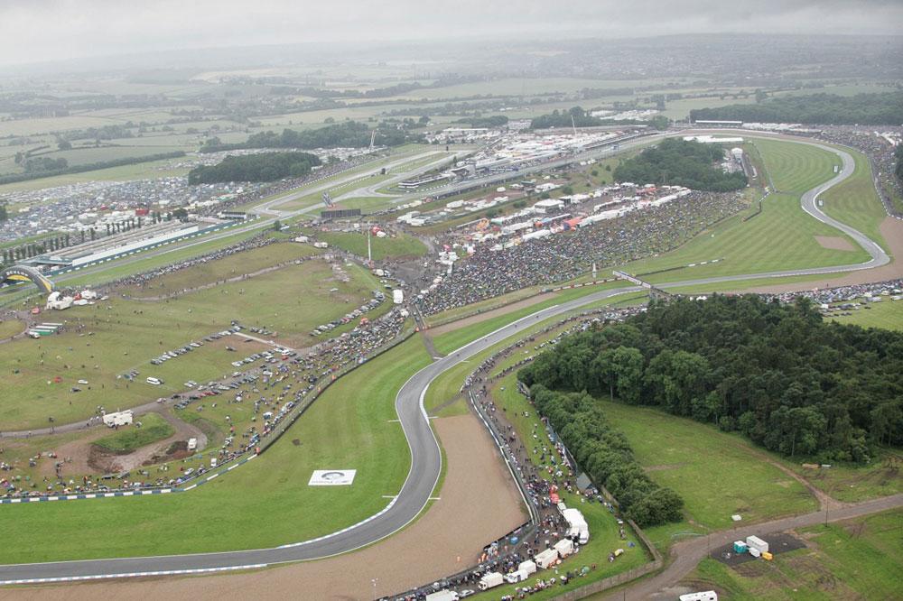 Donington Park vuelve al calendario de MotoGP