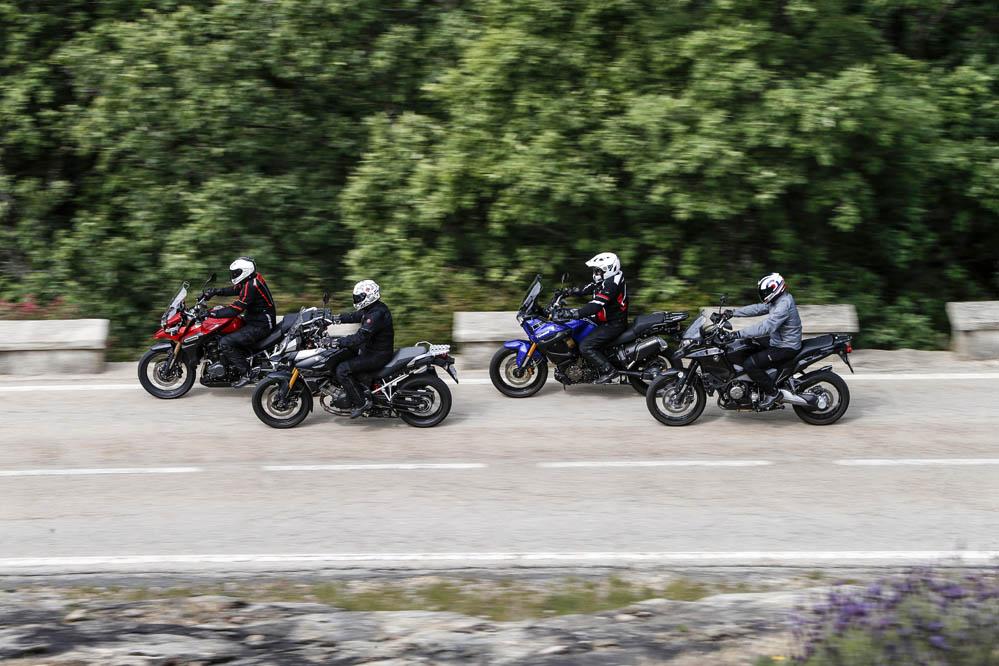 Comparativa maxitrail: Honda Crosstourer, Suzuki V-Strom 1000, Triumph Tiger Explorer y Yamaha XTZ 1200 Super Tenere