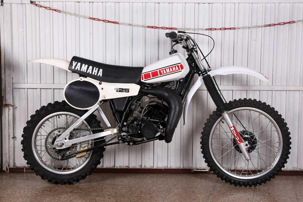 Clásica: Yamaha YZ 125 1980