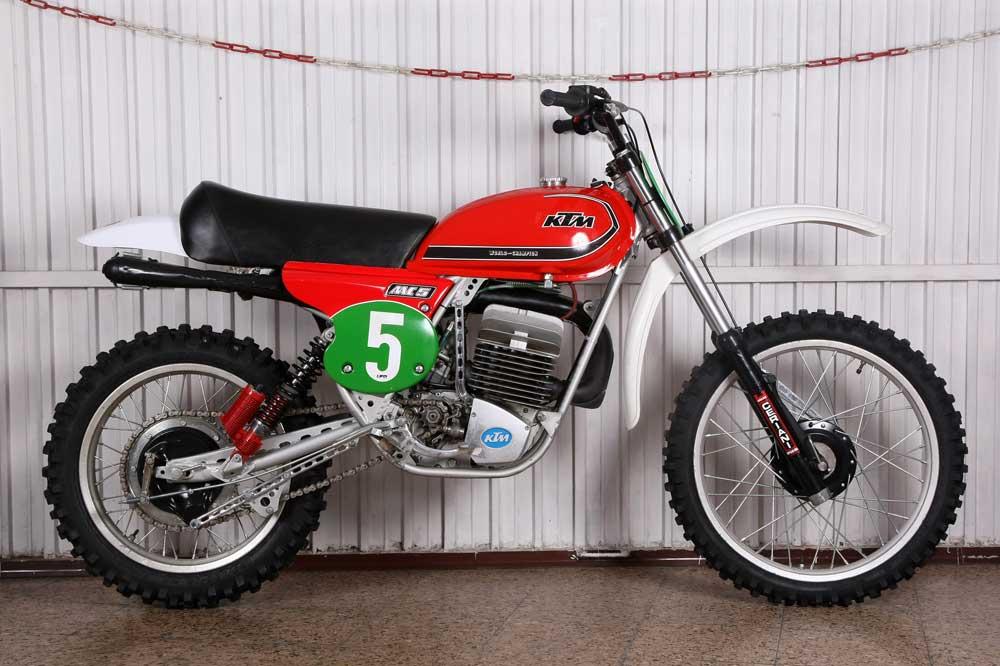 Clásicas: KTM MC 250 1977