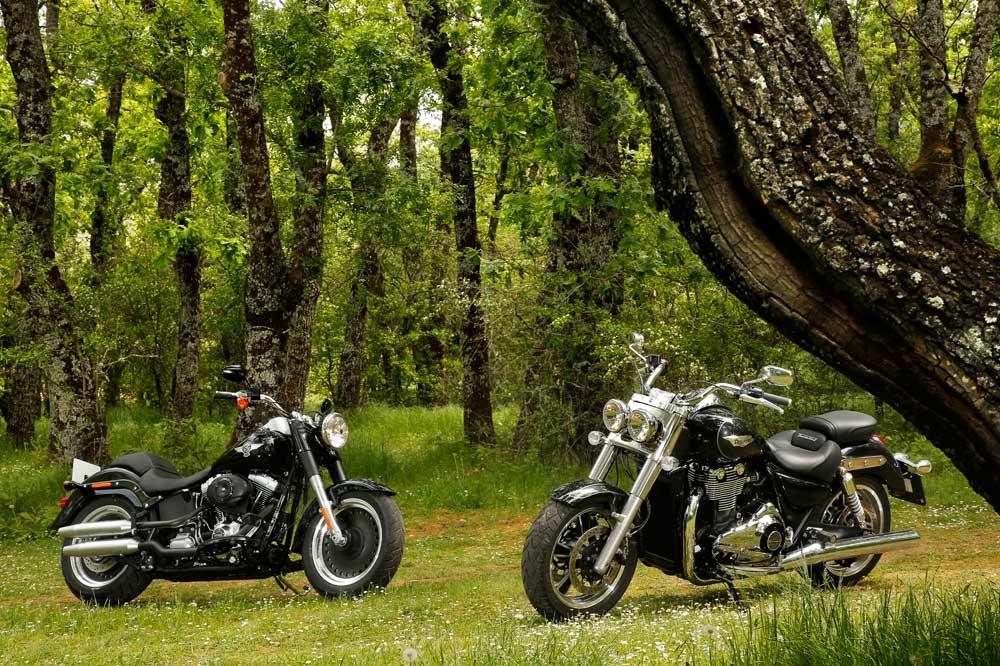 Comparativa Harley-Dadvison Fat Boy Special - Triumph Thunderbird Commander