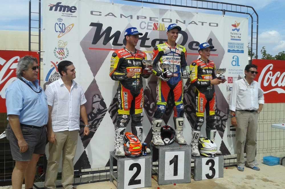 Tercera prueba del Campeonato de España de Supermotard 2014