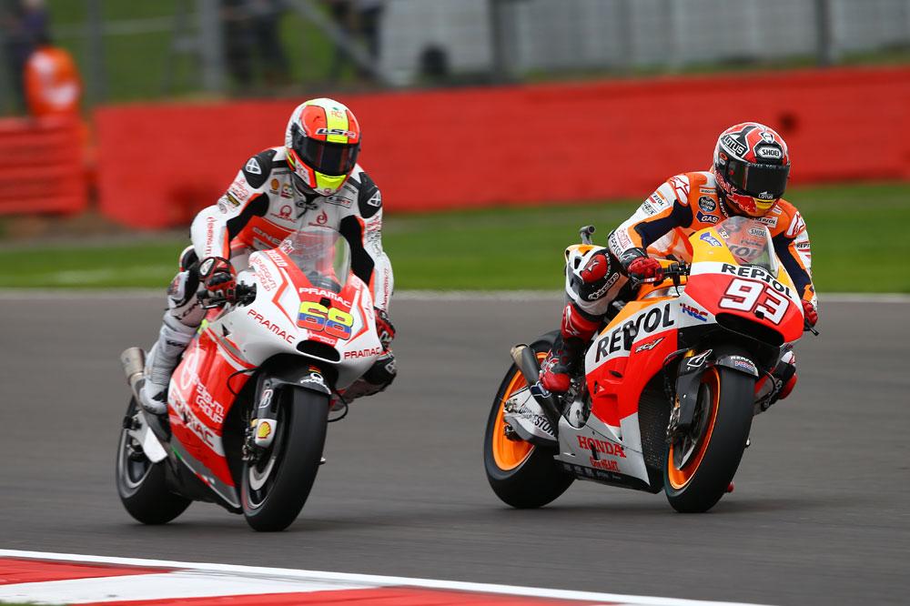 La lluvia tampoco perdona a los pilotos de MotoGP