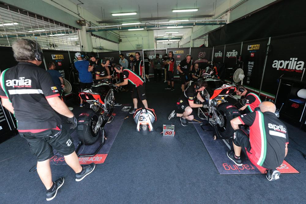Aprilia confirma que regresa a MotoGP en 2015 con Gresini