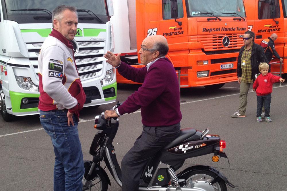 Marc VDS en MotoGP con Honda y Scott Redding