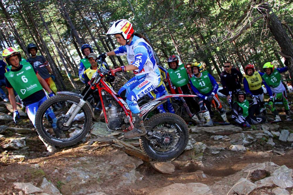 El equipo español femenino subcampeón en el Trial de las Naciones