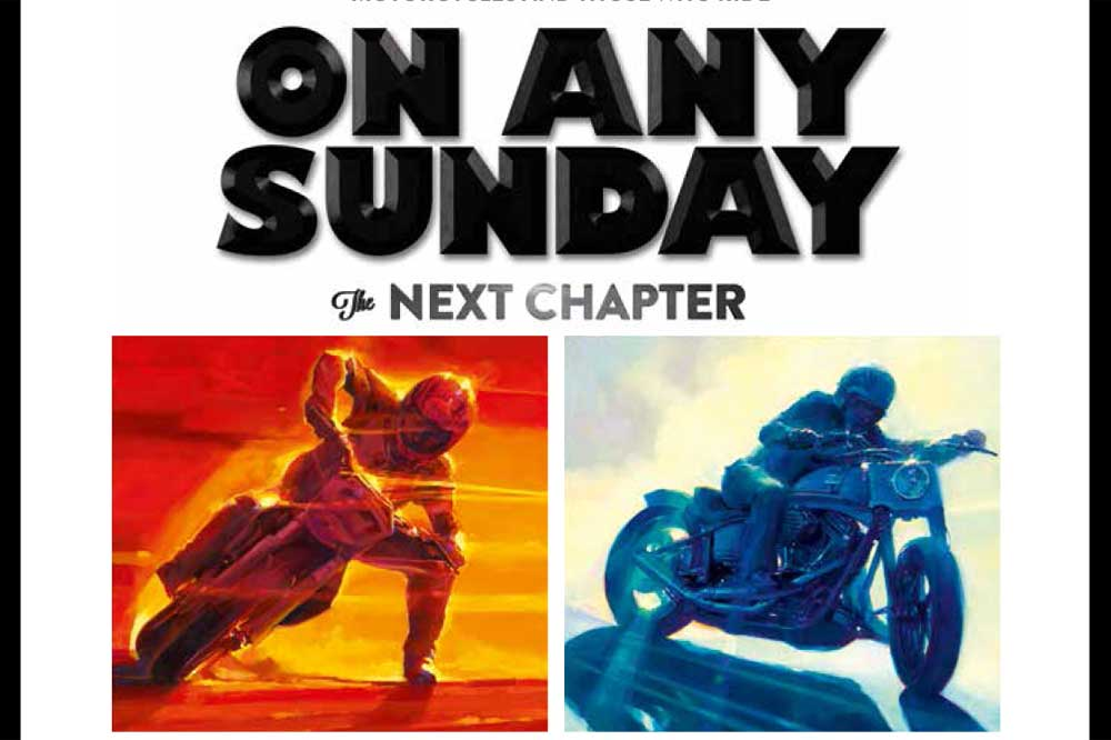 "Disfruta del estreno mundial de ""On Any Sunday"""