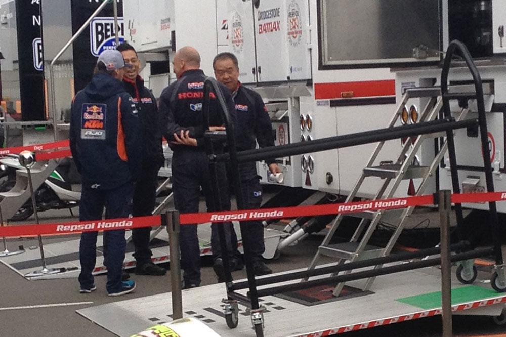 Jack Miller con LCR Honda