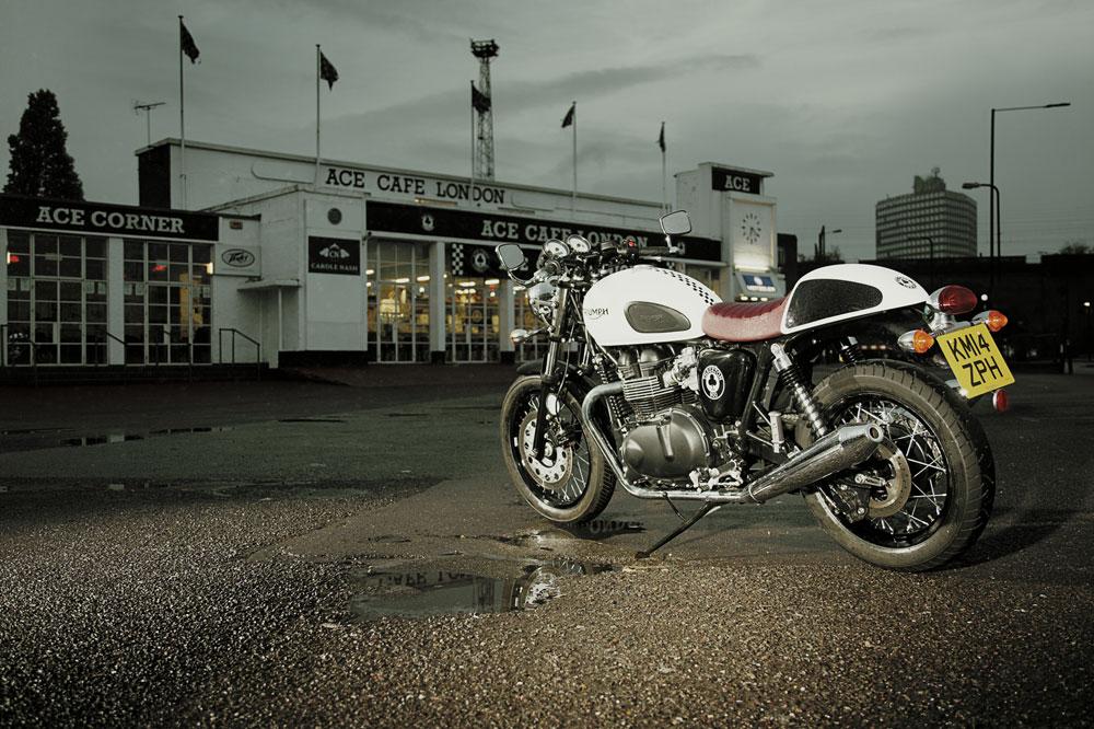 Triumph Thruxton Ace, leyenda británica al cuadrado