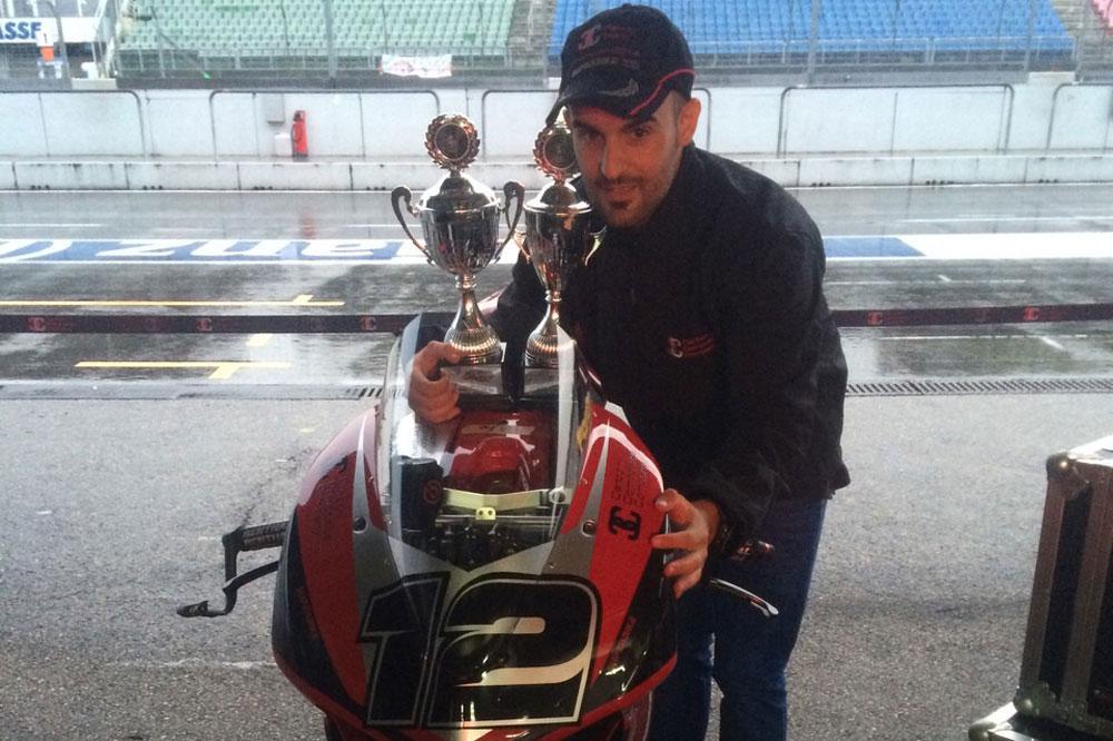 Xavi Forés campeón del IDM Superbike 2014