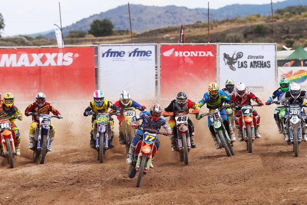 Butrón, Valentín, Santín y Braceras vencen en la sexta prueba del Campeonato de España de Motocross