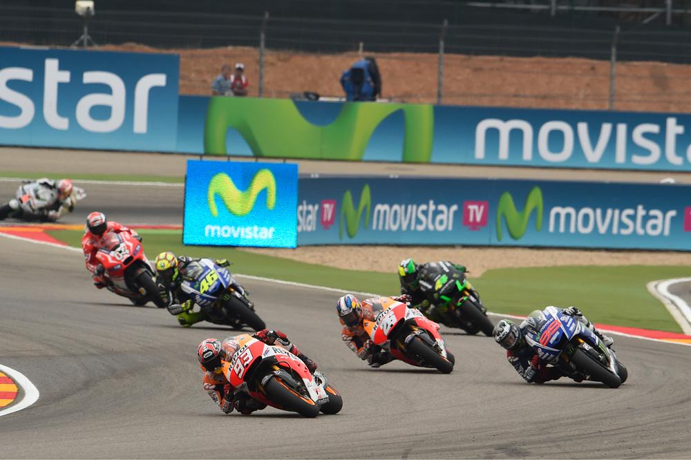 Horarios del Gran Premio de Aragón 2015