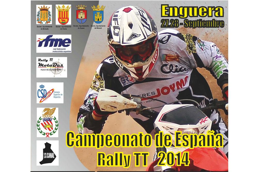 Enguera acoge la segunda prueba del Campeonato de España de Rally TT