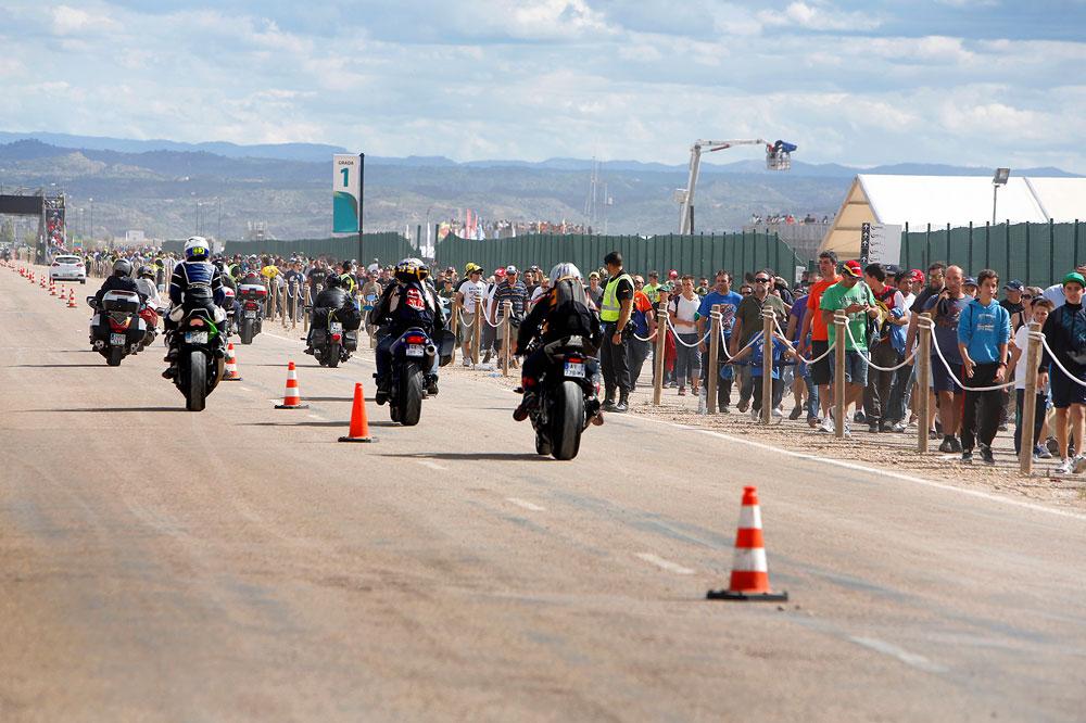 El plan de accesos para el Gran Premio de Aragón se activará este jueves