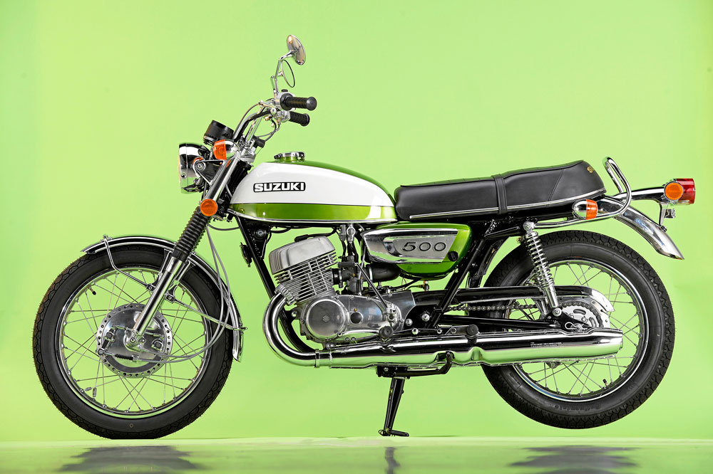 Motos clásicas: Suzuki T500J