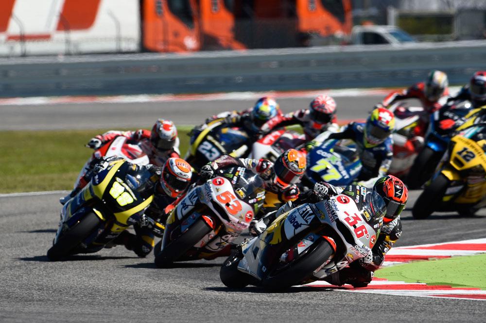 Dunlop estrena en Aragón una nueva especificación 2015 para Moto2