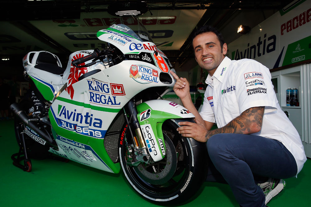 Héctor Barberá ya tiene su Ducati