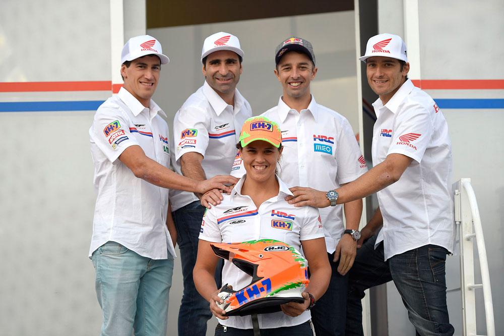 Laia Sanz se incorpora al Honda HRC