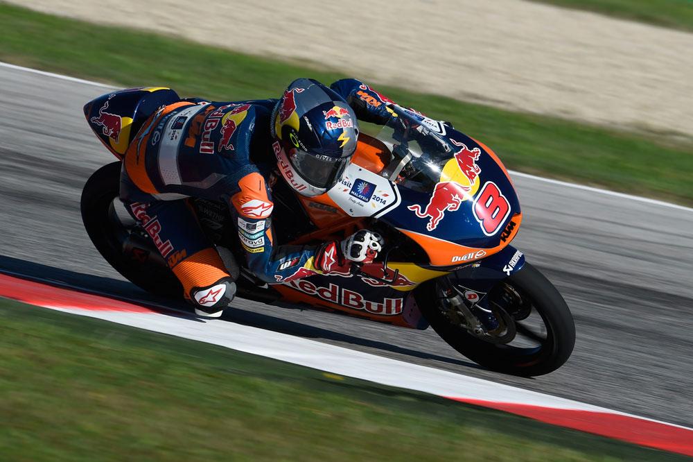 Jack Miller domina la sesión inaugural de Moto3