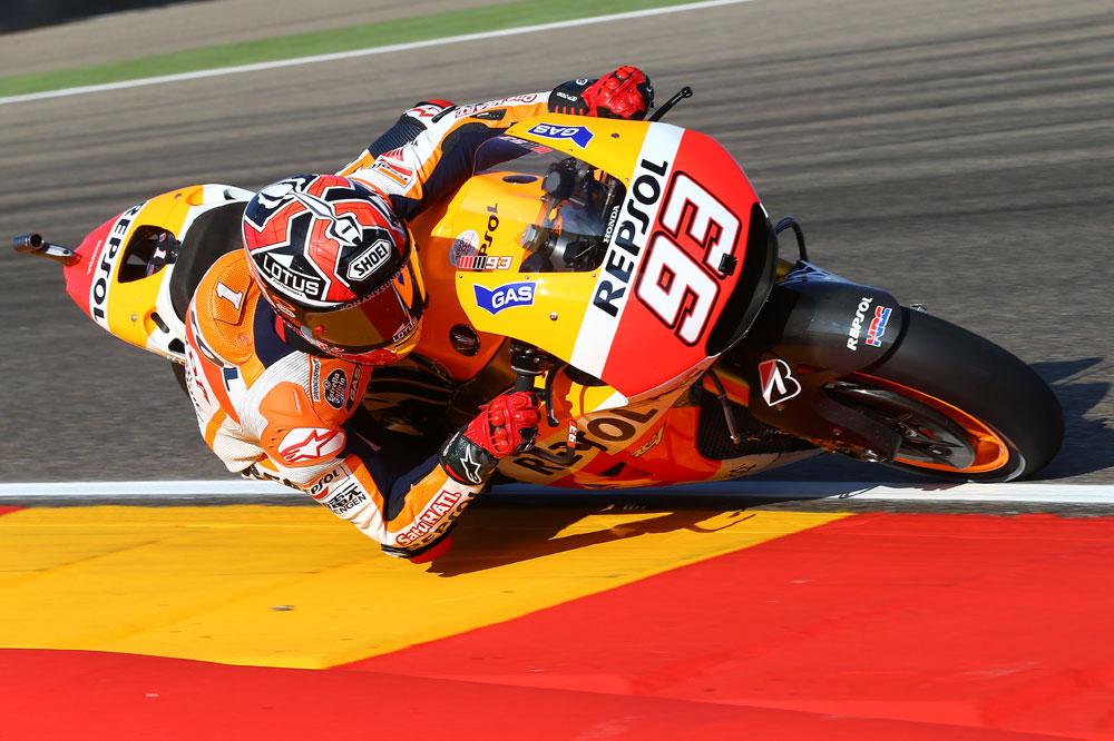 Márquez marca el ritmo en el FP2, a pesar de Dovizioso