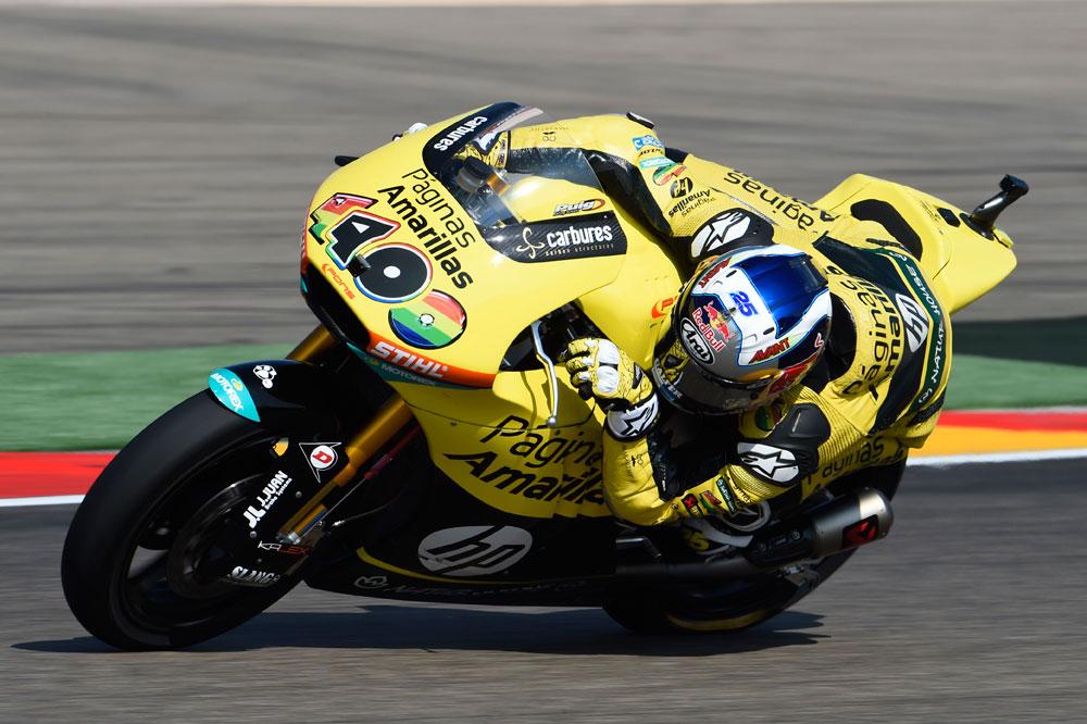 Márquez toma el liderato de Moto3; Viñales triunfa en Moto2