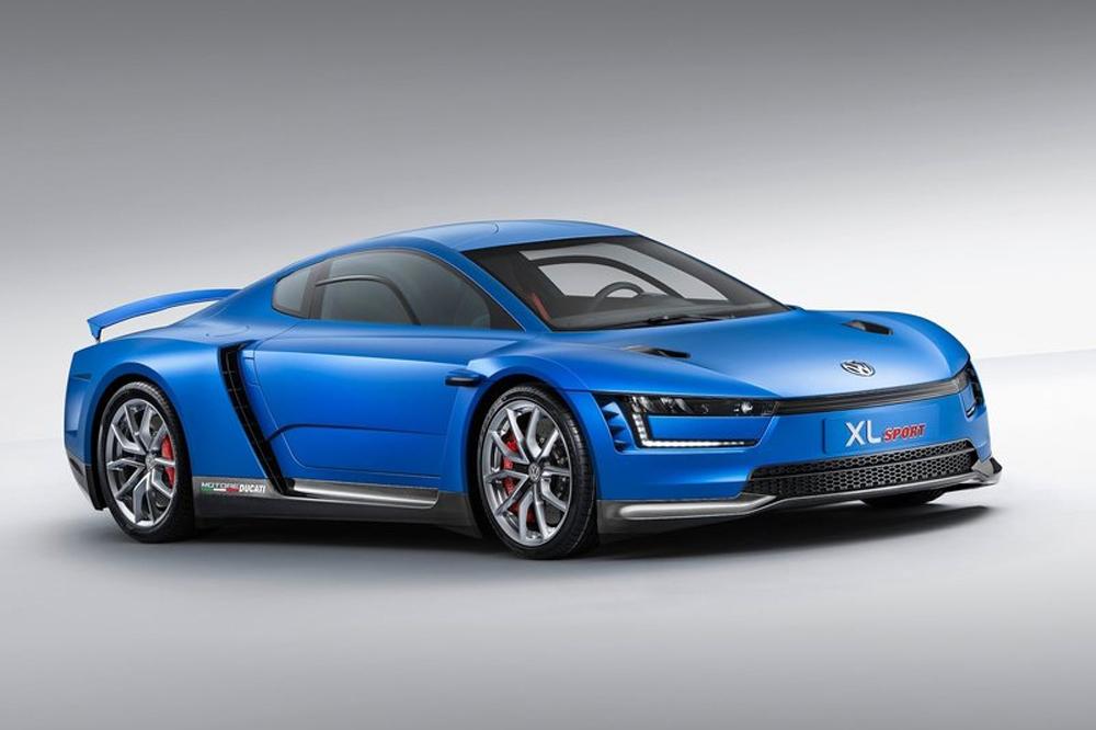 El nuevo Volkswagen XL Sport con motor Ducati 200CV