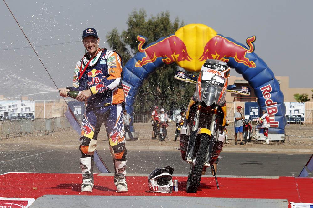 Marc Coma campeón del Rally de Marruecos por tercera vez