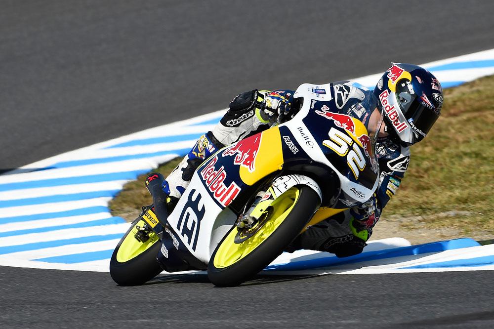Danny Kent se adjudica la pole en Moto3