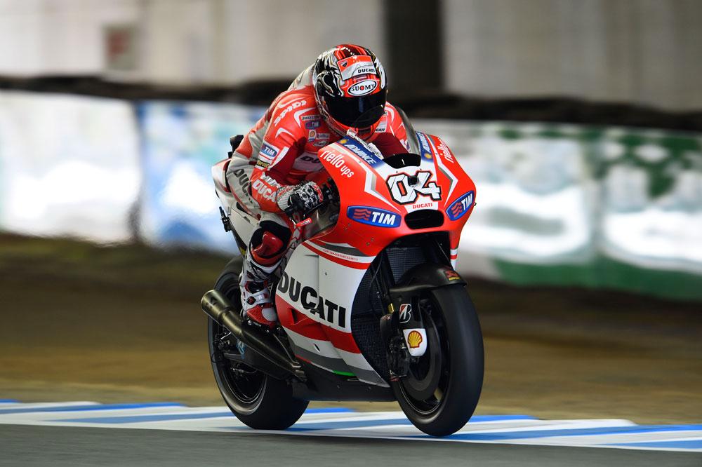 Dovizioso le otorga la pole a Ducati cuatro años después