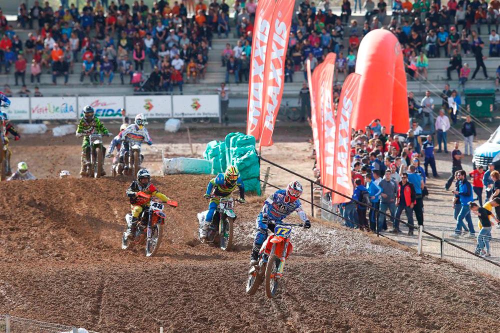 Butrón, Larrañaga, Santín y Braceras vencedores en la penúltima prueba del Campeonato de España de Motocross