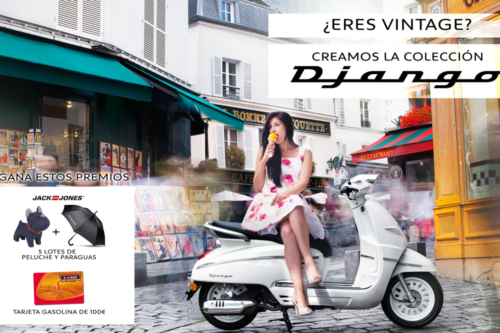 El nuevo Peugeot Django sale al mercado con un concurso de promoción
