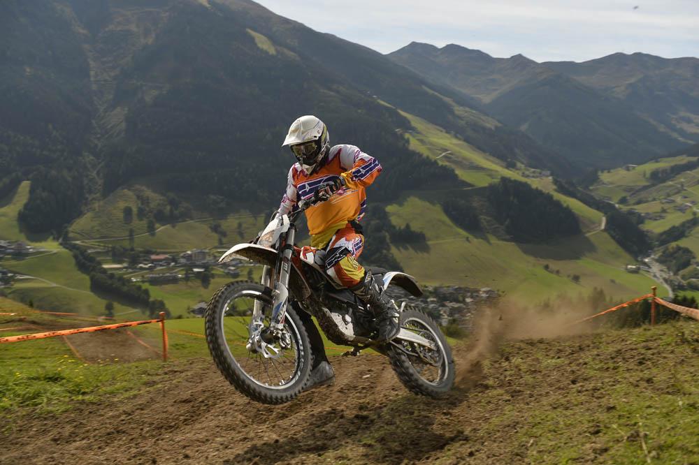 KTM Freeride E. Prueba
