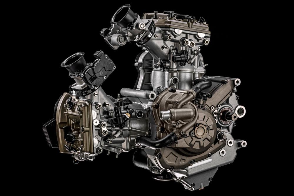 Nuevo motor Ducati Testatretta DVT con distribución variable