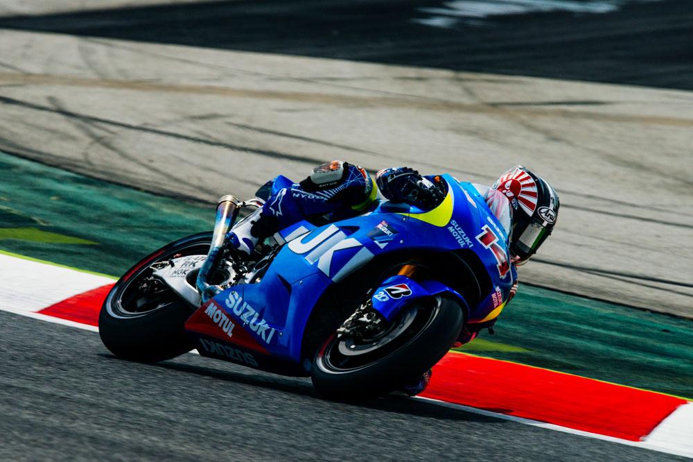 Disfruta con Suzuki en su regreso al Mundial de MotoGP