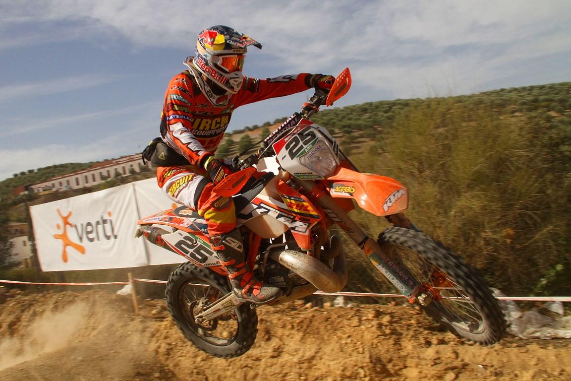 Iván Cervantes se proclama Campeón de España de Enduro 2014