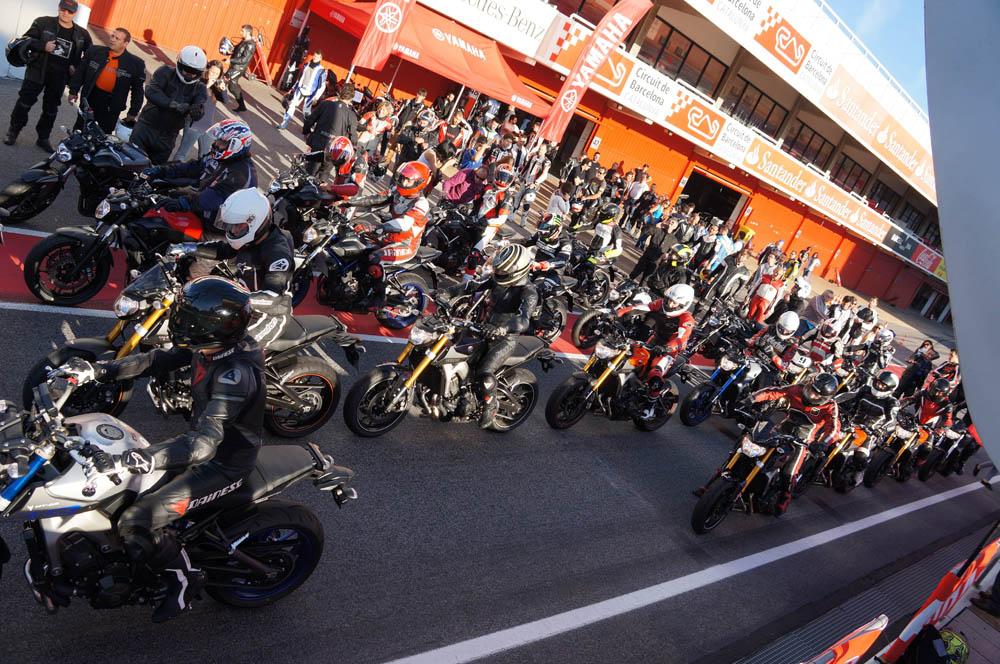 El circuito de Cataluña celebra el MT Track Day Experience