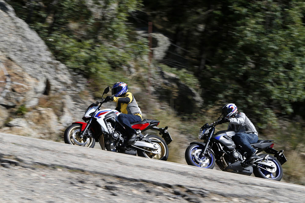 Comparativa Honda CB650F- Yamaha XJ6