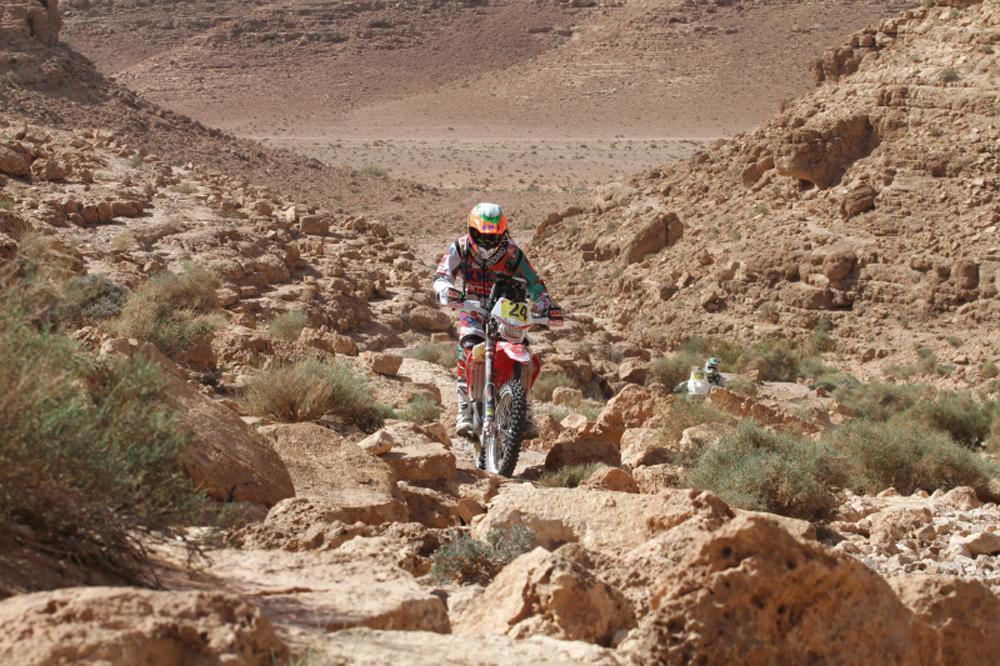 Johnny Aubert se lleva la segunda etapa del  Merzouga Rally