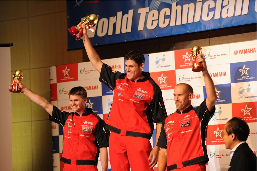 Tomás Candela campeón del Yamaha World Technician GP 2014