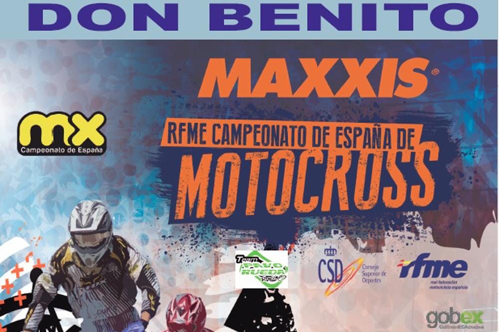 El Campeonato Nacional de Motocross cierra la temporada en Don Benito