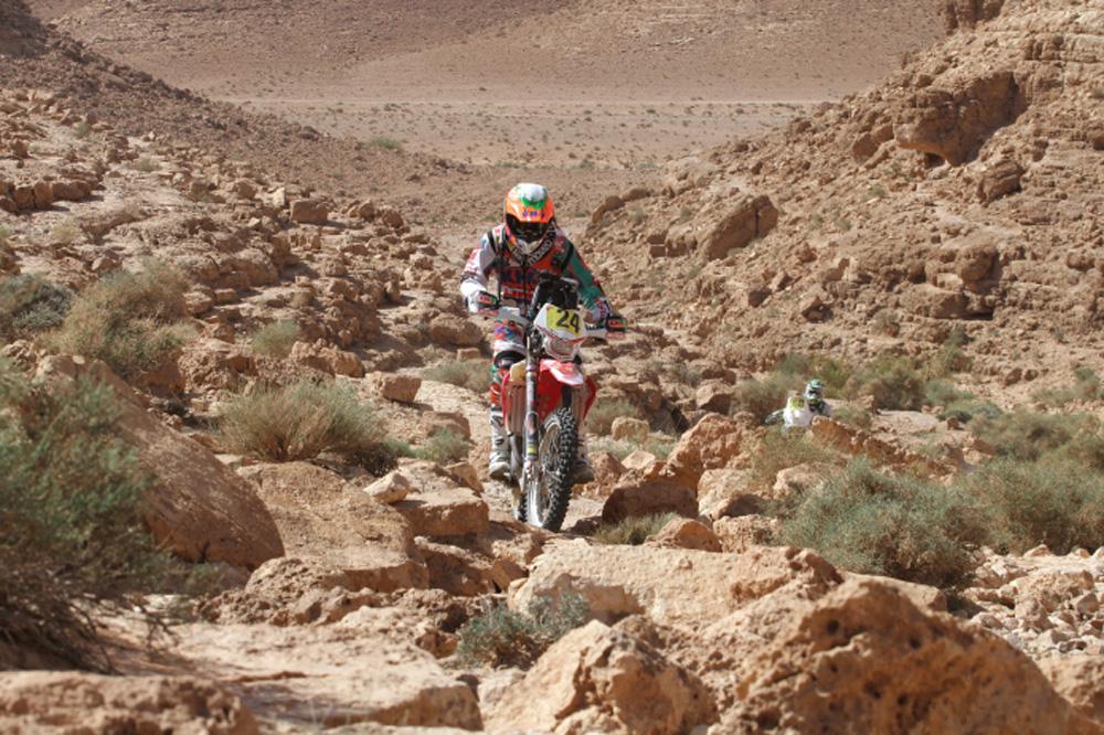 Knuiman se lleva la victoria en la cuarta etapa del Rally de Merzouga