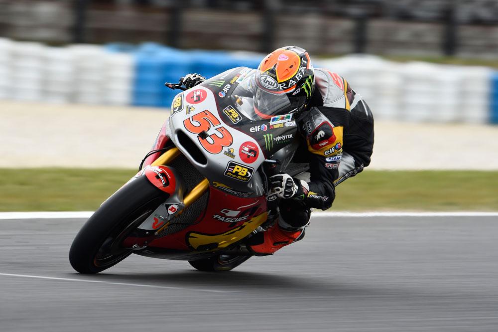 Tito Rabat marca el ritmo en Moto2