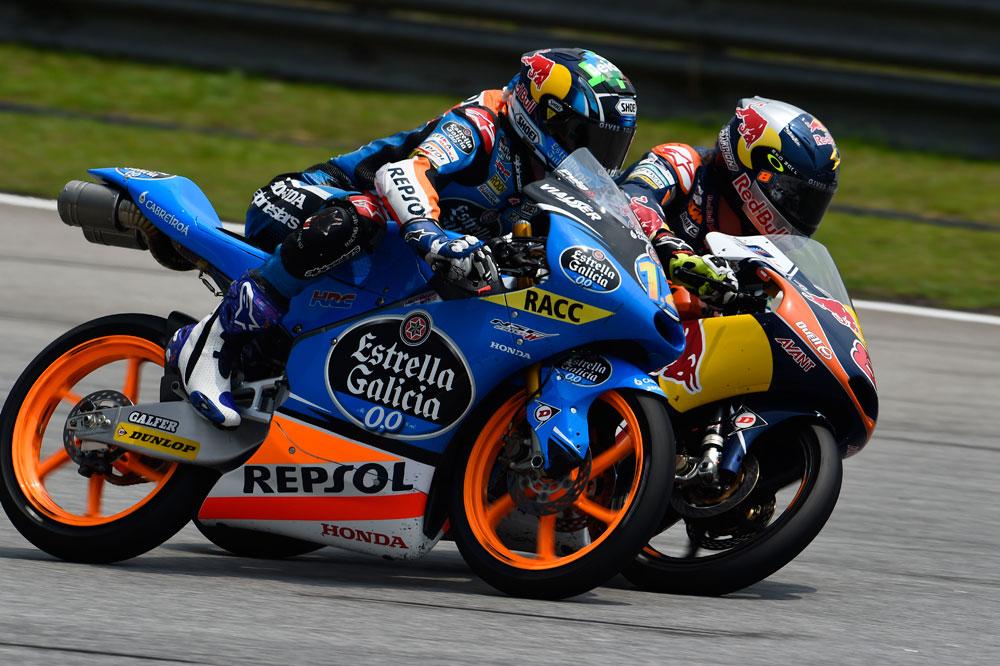 El título de Moto3 se decidirá en Valencia